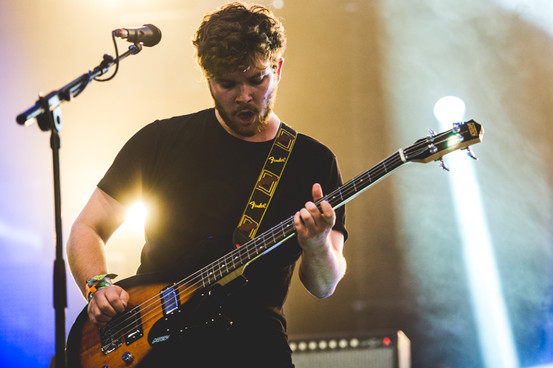 Royal Blood at Glastonbury. Photo: Jordan Hughes for NME